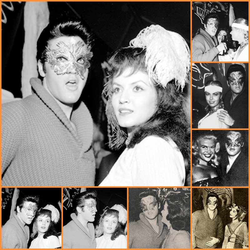 Oct 31, 1957, Hollywood Halloween Party a t designer Sy Devore's