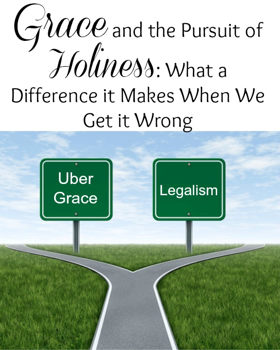 Grace and the pursuit of holiness what a difference it makes when grace and the pursuit of holiness what a difference it makes when we get it wrong fandeluxe Images