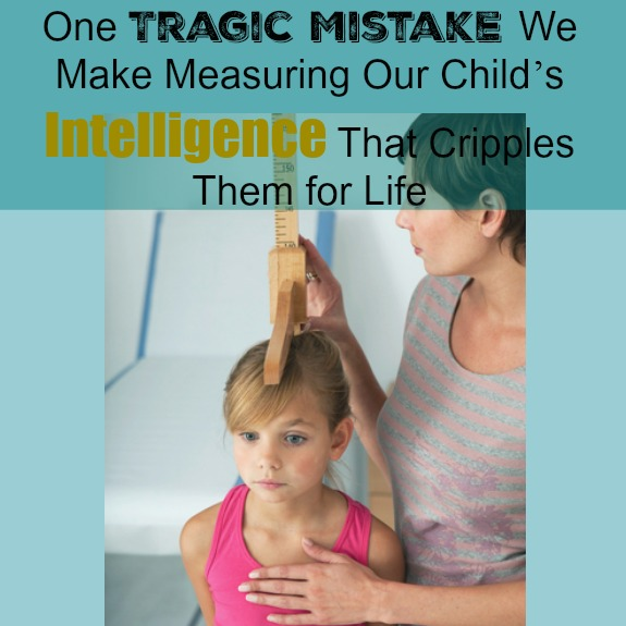 One Tragic Mistake We Make Measuring Our Child