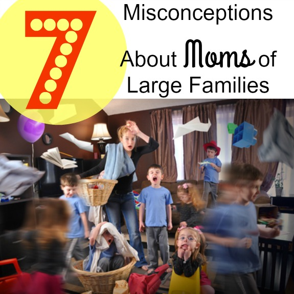 7 Misconceptions About Moms of Large Families